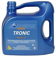 Моторное масло Aral High Tronic 5w40 4л
