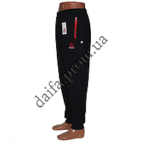 Мужские трикотажные брюки REEBOK синие R02-2 (44-52 р-р) пр-во Украина. Оптом в Одессе.