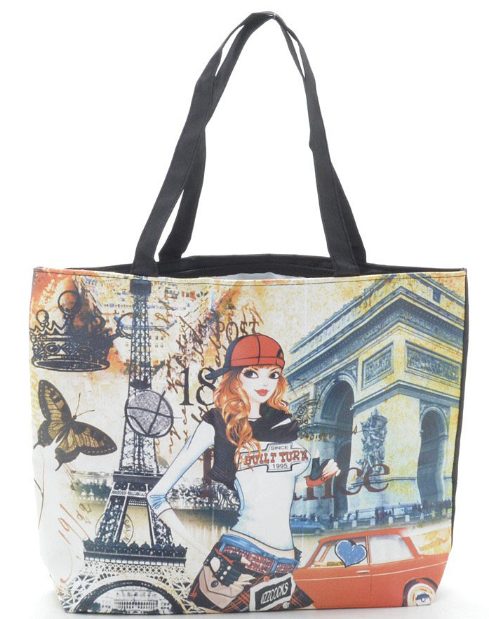 a82dbcef5593 Женская пляжная сумка 004 №5 черная пляжные сумки, пляжные корзинки  недорого Одесса 7 км