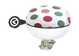 Дзвоник KLS Bell 80 white colour peas