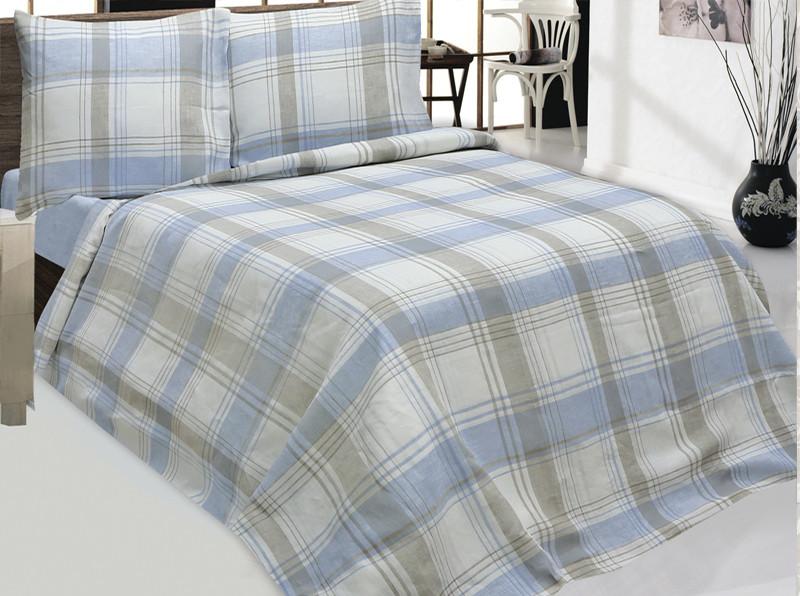 Комплект постельного белья 1,5 с.1  р.3 цвет 2 (подод. 215*153,прост. 214*150 нав.70*70)100%лен