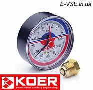 Контрольно-измерительные приборы для систем отопления и водоснабжения Koer