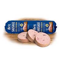 Brit Premium Sausage chicken колбаса для собак с курицей, 800г