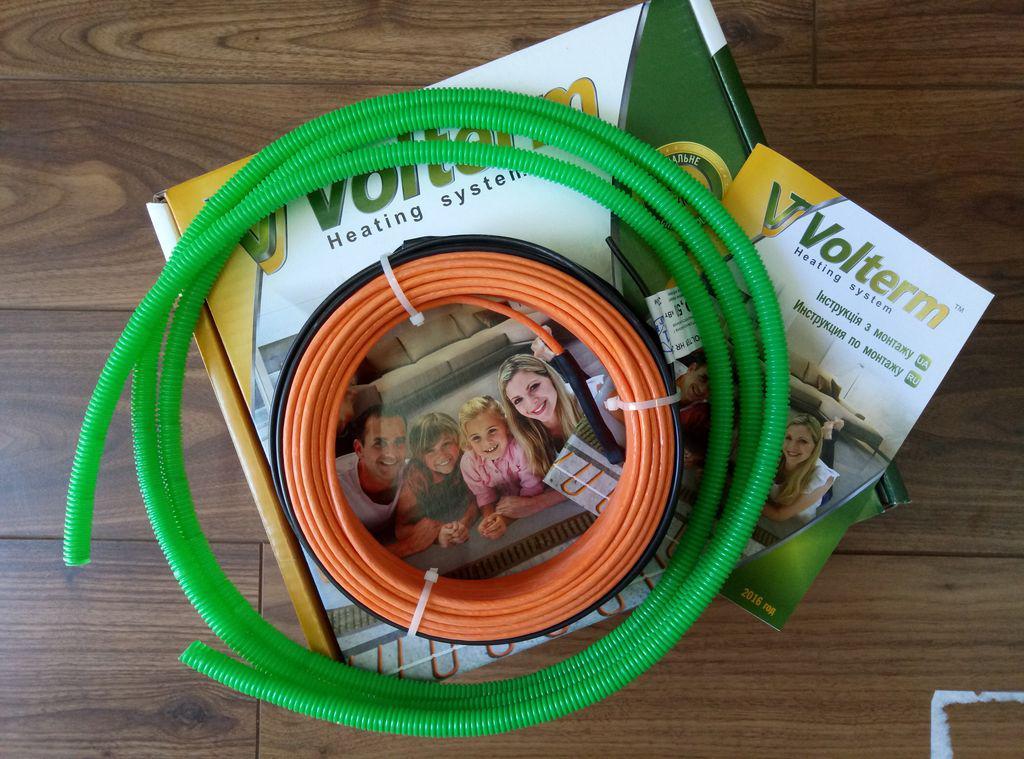 Нагревательный кабель Volterm HR 18 180 (1,0 - 1,2 м2)