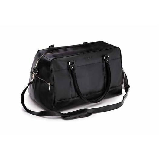 Спортивная дорожная сумка GOVAN на плечо черная Solier S18