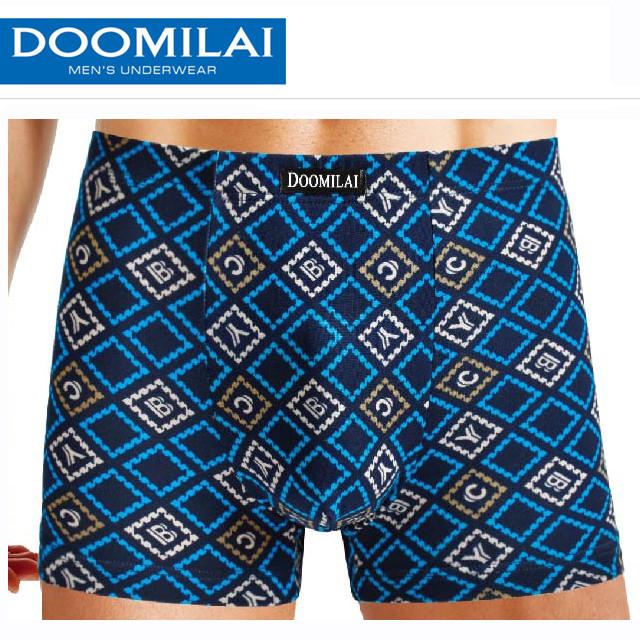 Чоловічі боксери стрейчеві з бамбука Марка «DOOMILAI» Арт.D-01107