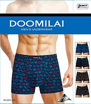 Мужские боксеры стрейчевые из бамбука  Марка  «DOOMILAI» Арт.D-01106, фото 2