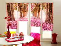 Ролл-шторы Розовый лес