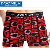 Мужские боксеры стрейчевые из бамбука  Марка  «DOOMILAI» Арт.D-01118