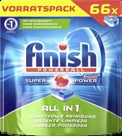 Таблетки для посудомоечной машины Finish Powerball All in 1 max 66 шт