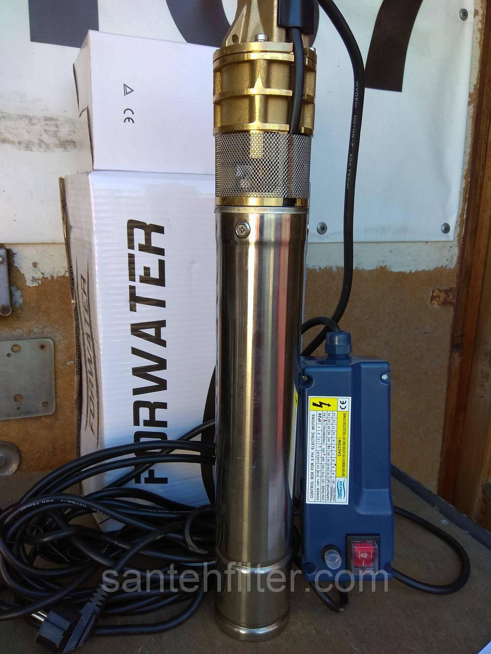 Бытовой насос водяной глубинный погружной 4SKM 100  Форватер