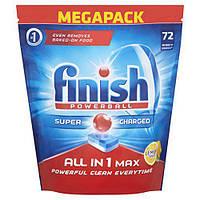 Копия Таблетки для посудомоечной машины Finish Powerball All in 1 max 72 шт