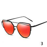 Модные солнцезащитные очки Красный