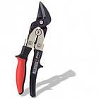 Ножницы по металлу ZEBRA С двойным рычажным механизмом и эргономичными рукоятками Wurth, фото 2