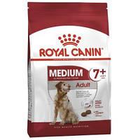 Royal Canin (Роял Канин) Medium Adult 7+ - для собак средних пород от 7 лет,  15кг