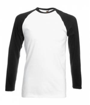 Мужская футболка с длинным рукавом 028-TN-k294  fruit of the loom