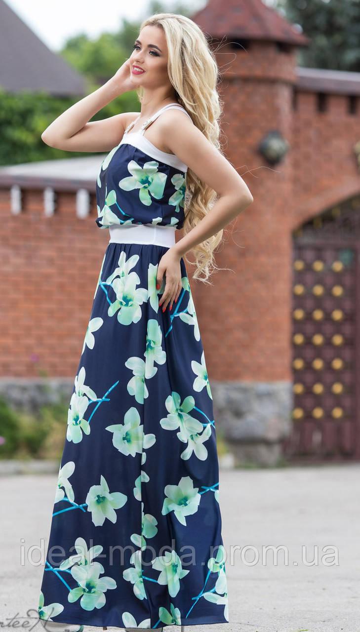 692f6aecba181b1 Летние платья в пол Eks062, цена 551 грн., купить в Хмельницком ...