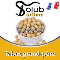 Ароматизатор Solub Arome - Tabac grand-père (Коричневый сахар с жареным фундуком), 5 мл.