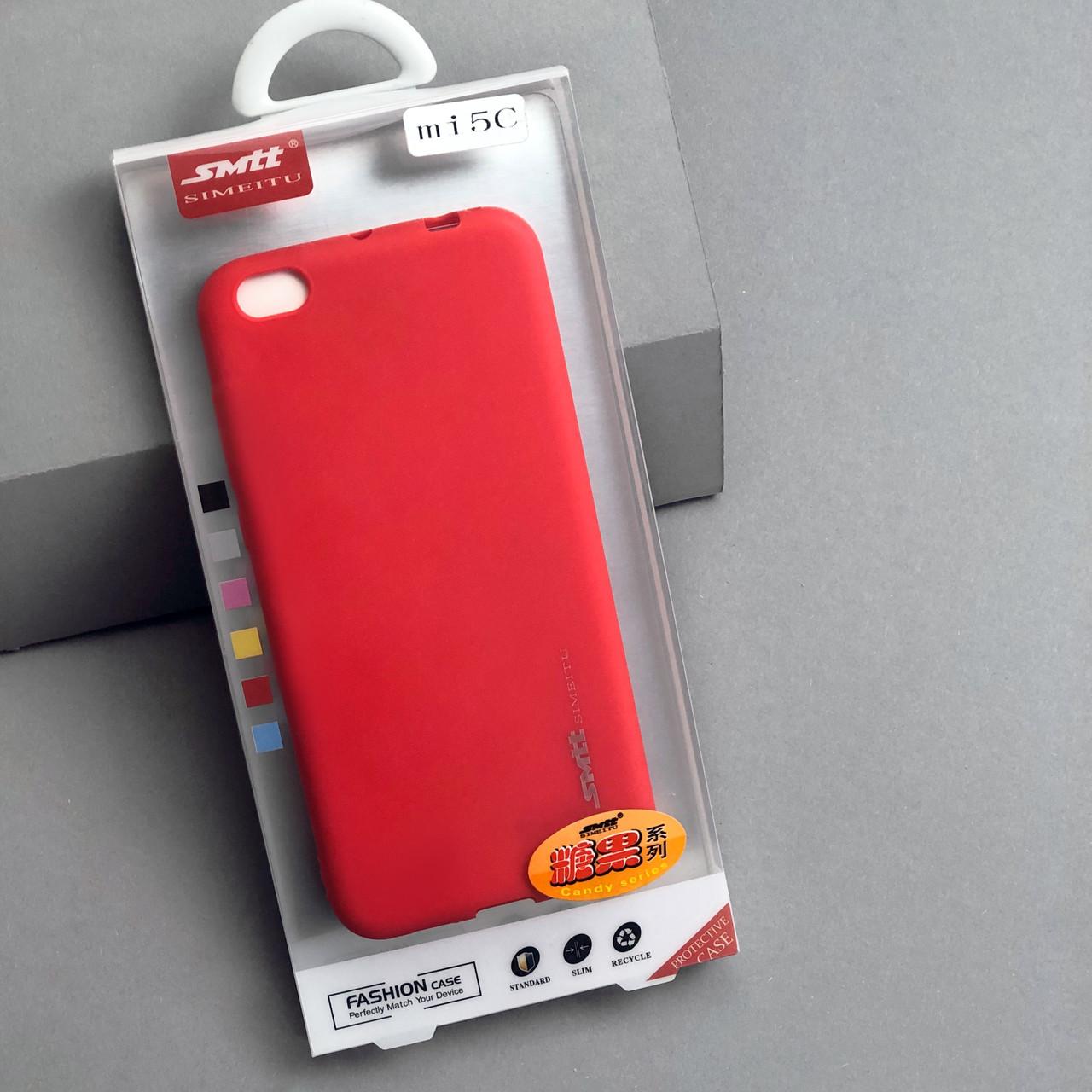 Чехол SMTT  Xiaomi Mi 5с Красный