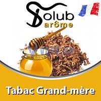 Ароматизатор Solub Arome - Tabac Grand-mère (Мягкий вкус табака с медовыми нотками), 5 мл.