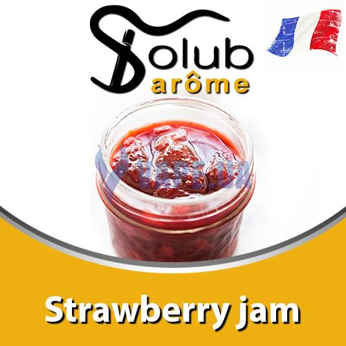 Ароматизатор Solub Arome - Strawberry jam (Клубнично - карамельное варенье), 10 мл.