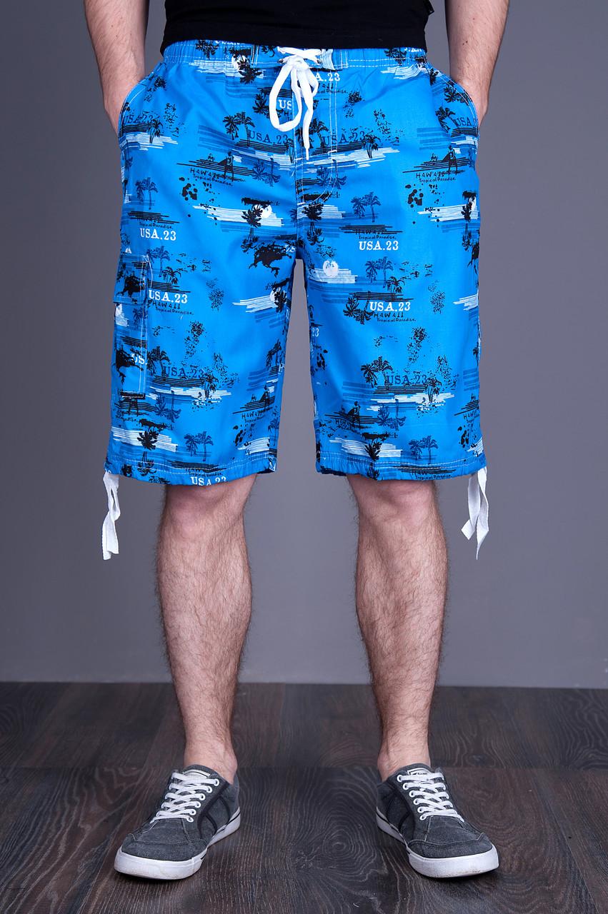 Бриджі Чоловічі (плащівка), світло-синього кольору