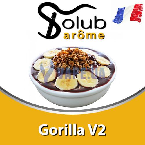 Ароматизатор Solub Arome - Gorilla V2 (Солодкий банан з делікатним смаком какао і нотками тютюну), 10 мл