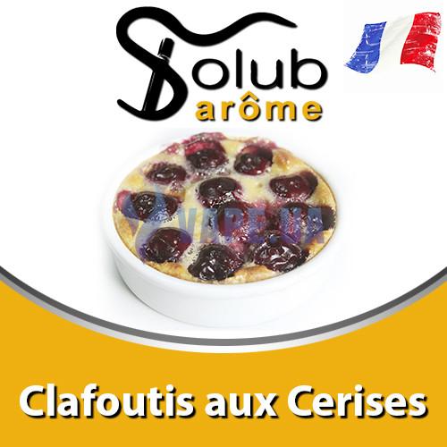 Ароматизатор Solub Arome - Clafoutis aux Cerises (Вершковий бісквіт зі стиглою вишнею), 10 мл