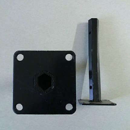 Шестигранная полуось на мотоблок Ø 24 мм длина 270 мм, фото 2