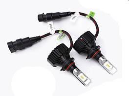 Светодиодная лампа T8 цоколь 9005 (HB3), GSP, 6500К, 8000 lm 30W, 9-32В