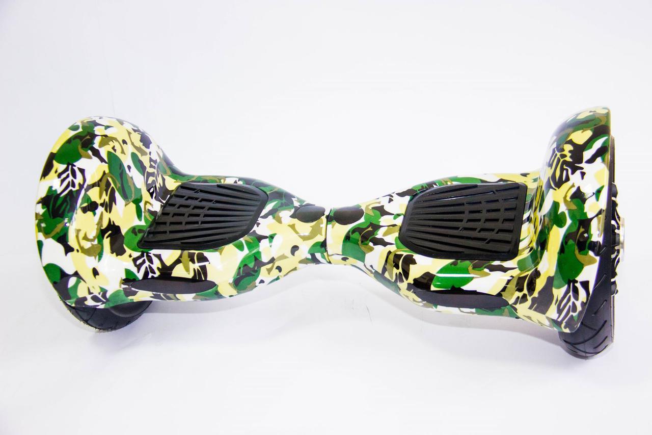 Гироборд Allroad 10' Professional NEW Сamouflage (Led, Bluetooth, Сумка, Пульт)