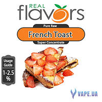 Ароматизатор Real Flavors Super Concentrate French Toast (Французские тосты), 5 мл.