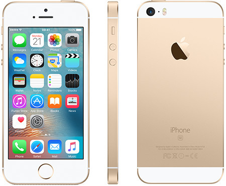 Apple iphone SE 16 Gb Gold (Б/У)