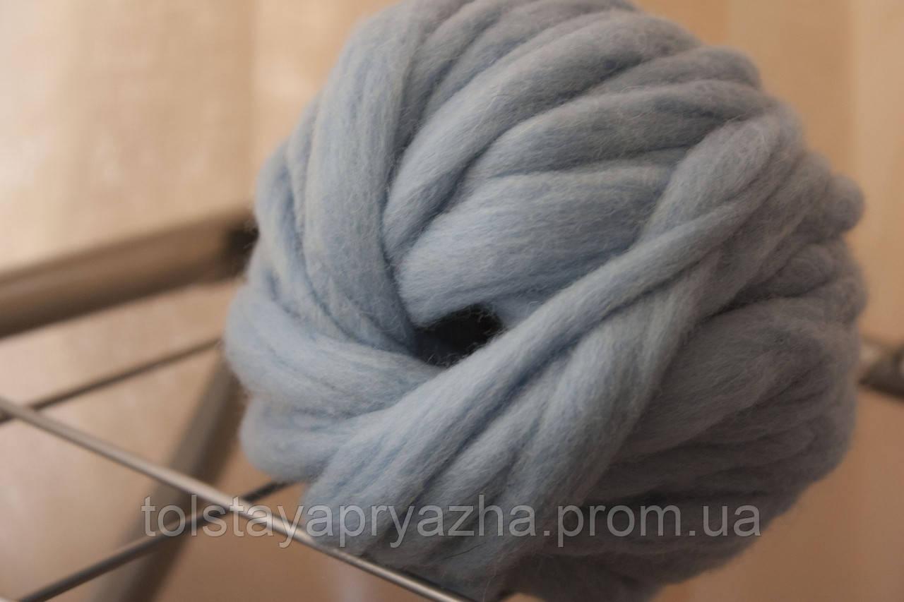 Пряжа Дуо (голубой)