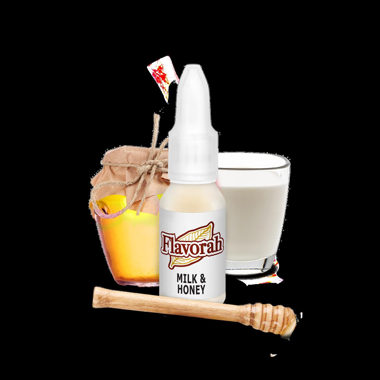 Ароматизатор Flavorah - Milk & Honey (Молоко с мёдом), 15 мл.