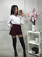 Красивые женские шорты с высокой посадкой