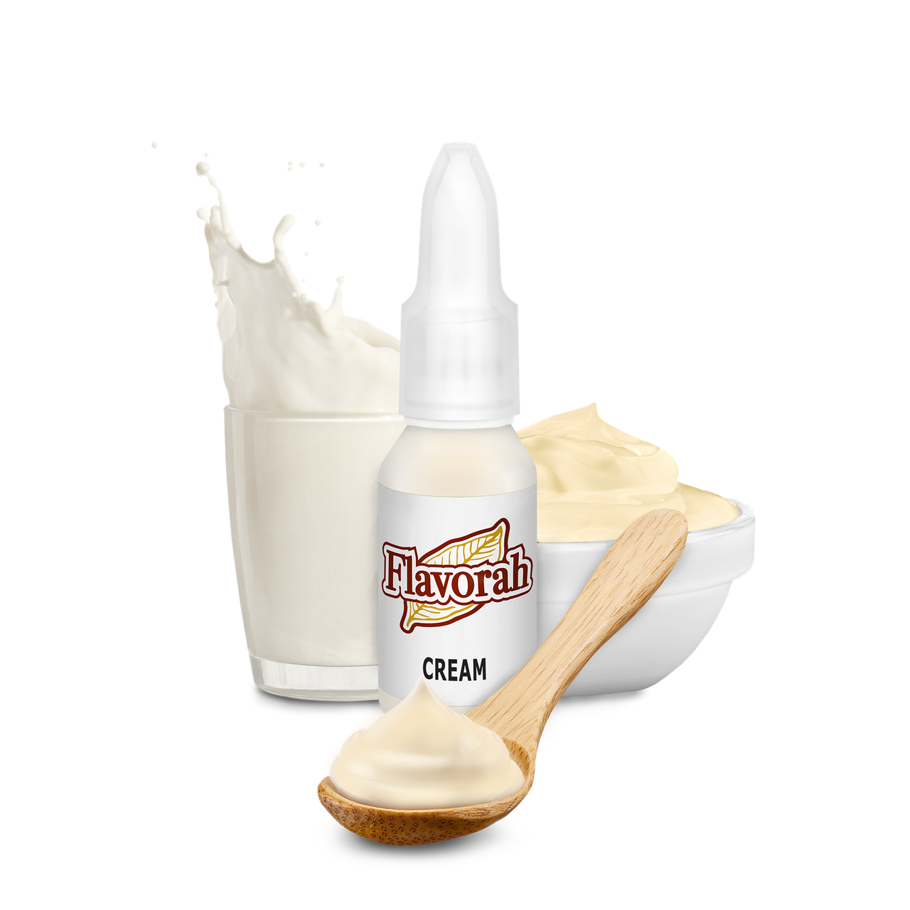 Ароматизатор Flavorah - Cream (Крем), 15 мл.