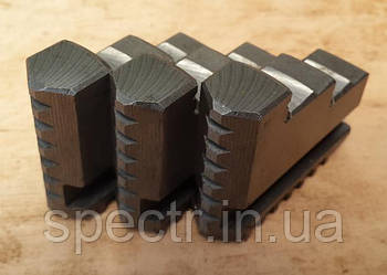 Кулачки прямые токарного патрона диаметром 125мм