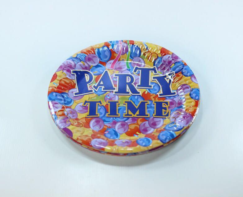 Бумажные тарелки для праздника 10 штук