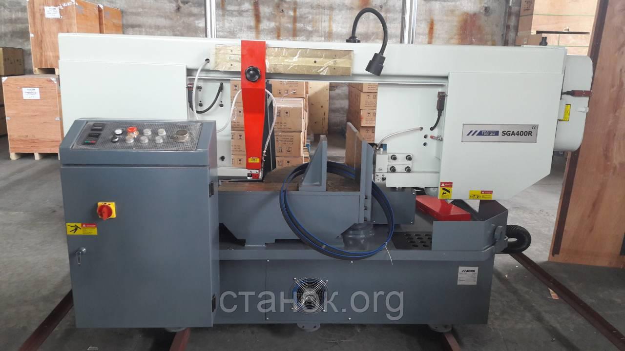 FDB Maschinen SGA 400 R ленточнопильный станок по металлу поворотный полуавтоматический пила фдб машинен сга