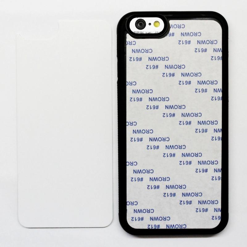 Чехол для сублимации iPhone 6/6s TPU (чёрный)
