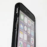 Чехол для сублимации iPhone 6/6s TPU (чёрный), фото 2