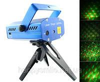 Mini Laser stage lighting YX-6B – мощный лазерный проектор для дискотек и ресторанов