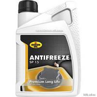 Антифриз Kroon Oil Antifreeze SP 15 концентрат оранжевого цвета 1л