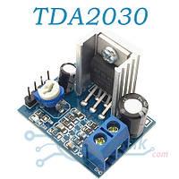 Модуль TDA2030, аудиоусилитель 18Вт, 6В…12В