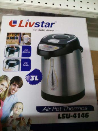 Термопот (Термос + чайник) Livstar LSU-4146 (3 л)