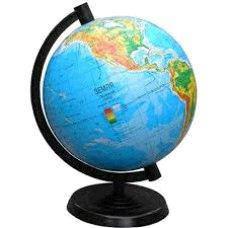 Глобус физический, диаметр 220мм
