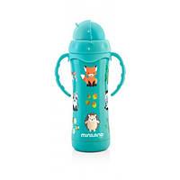 Термопоильник с трубочкой Miniland Baby Thermokid Aqua / Min 89189, фото 1