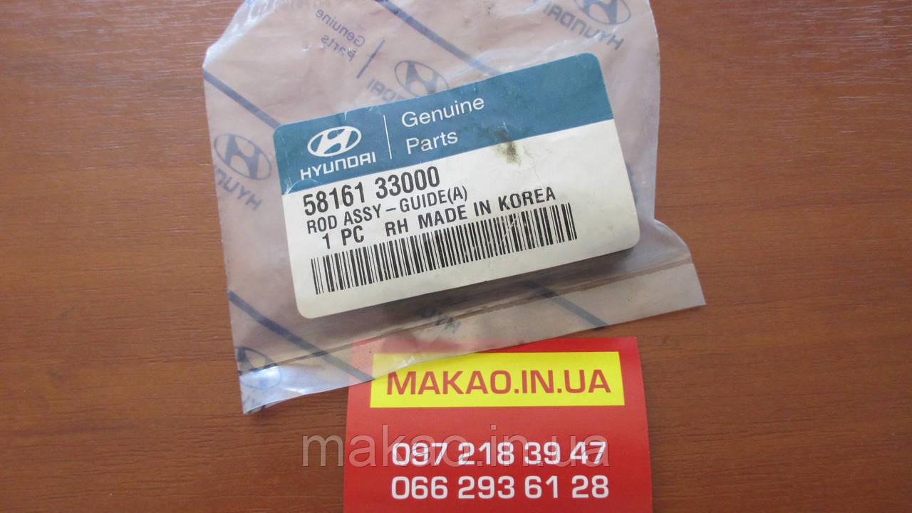 Направляющая суппорта переднего Hyundai Sonata Lantra Elantra H100 H200.