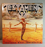 CD диск Testament - Practice What You Preach, фото 1